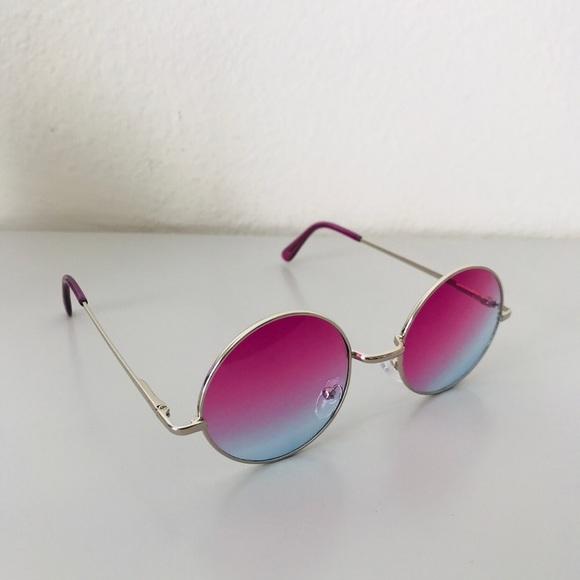 6ce510d9b Accessories   Retro Color Lens Round Circle Sunglasses   Poshmark